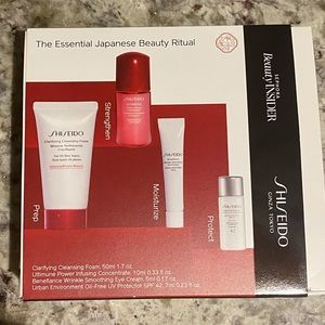 Shiseido beauty ritual